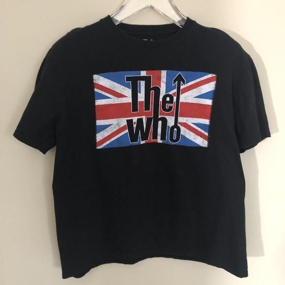 c755b8e42e999d The Who Shirts | Mens Graphic British Flag Band Tshirt | Poshmark